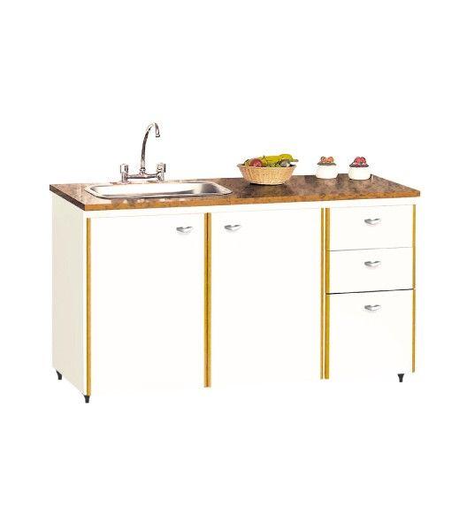 Bajo mesada muebles de cocina platinum express for Muebles bajos de cocina