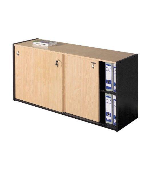 Biblioteca puertas corredizas muebles de oficina platinum for Muebles de oficina palma de mallorca