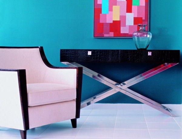 C mo combinar el color de las paredes con los muebles for Muebles oscuros paredes claras