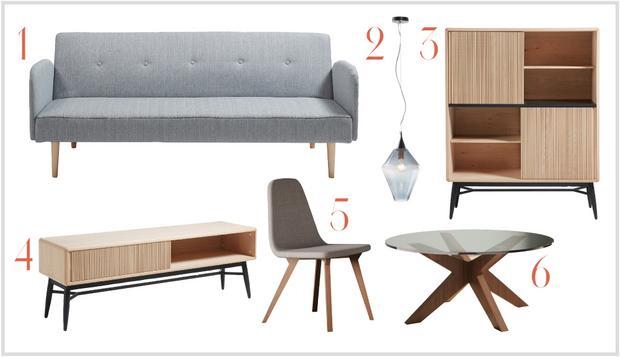 Muebles de estilo vintage muebles platinum express for Muebles nordicos