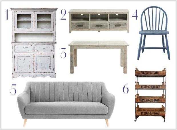 muebles de estilo vintage muebles platinum express