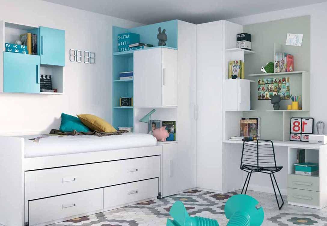 Decoraci n espacios peque os tips platinum epress - Habitaciones juveniles espacios pequenos ...