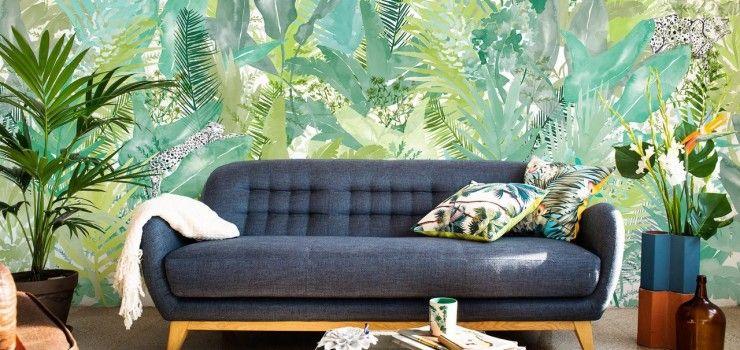 Tropical Jungle la última tendencia en decoración de este verano